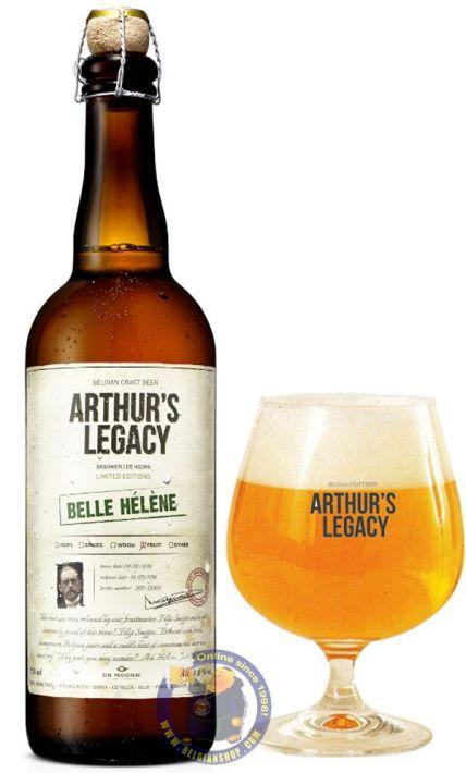 Arthur-s-Lagacy-Belle-Helene-Belgian-Beer